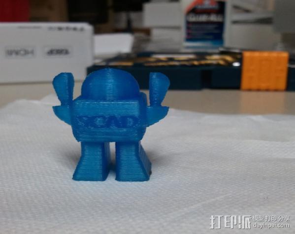 SCAD机器人 3D模型  图2