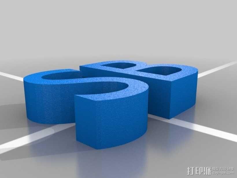 SCAD机器人 3D模型  图4