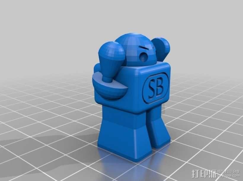 SCAD机器人 3D模型  图3