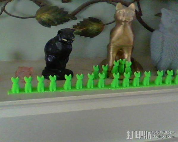 小猫 3D模型  图4