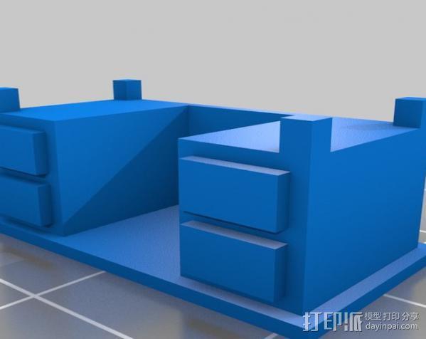 办公桌 3D模型  图2