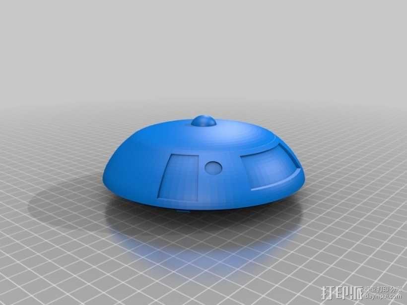 太空迷失 飞船 3D模型  图1