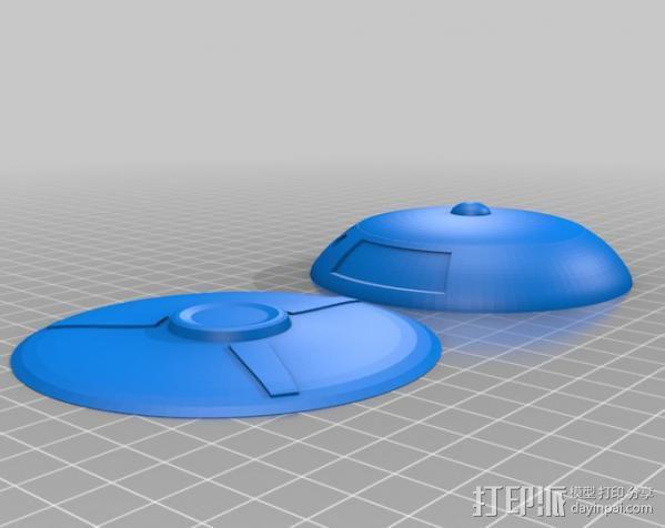 太空迷失 飞船 3D模型  图2