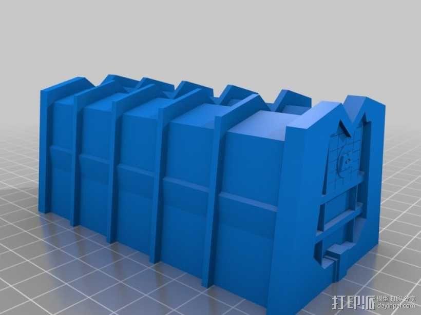 蓝毛怪制作模具 3D模型  图4