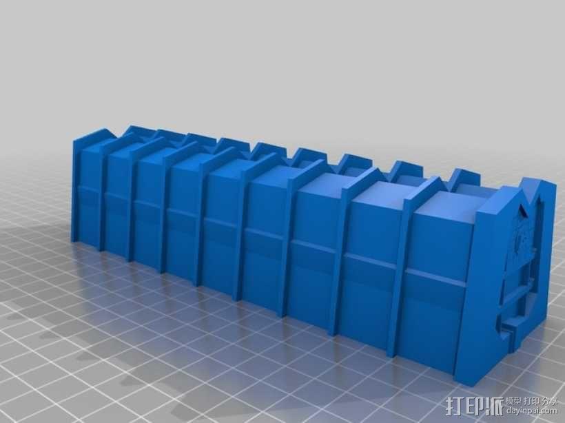 蓝毛怪制作模具 3D模型  图5