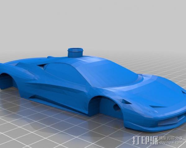 Ferrari 458 法拉利跑车 3D模型  图3