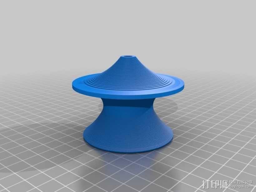 旋转椅 3D模型  图1