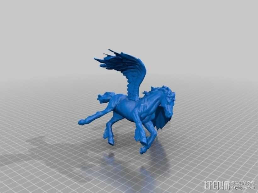 飞马 3D模型  图2