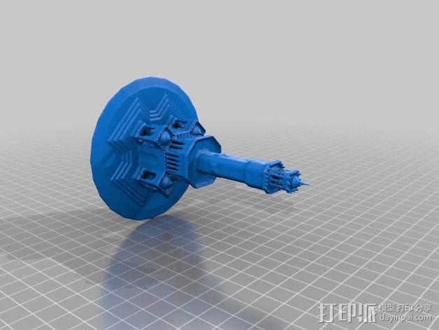 钟塔 钟楼 3D模型  图2