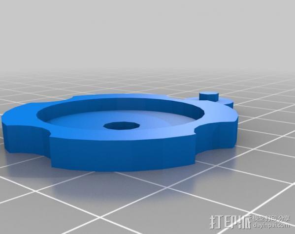 消防栓 3D模型  图8