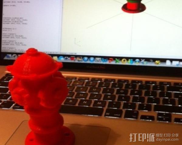 消防栓 3D模型  图12