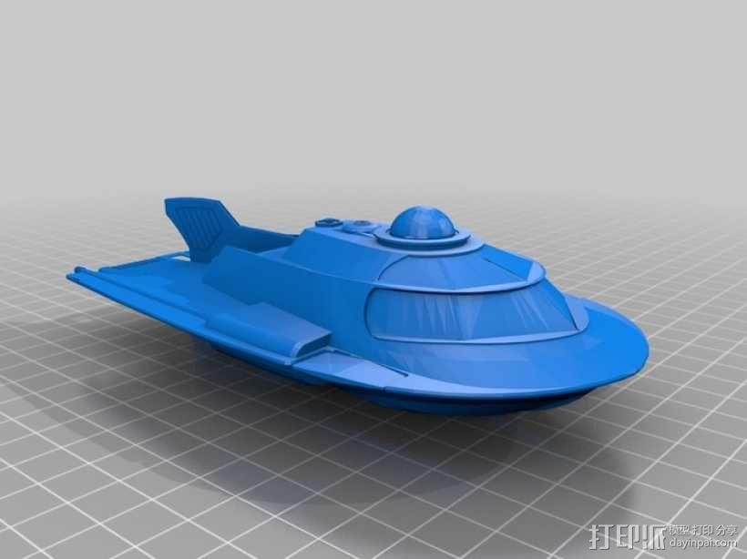 U型潜艇 3D模型  图3