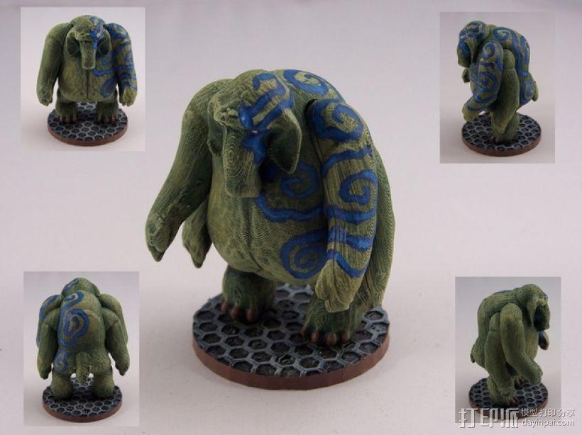 大象战士 3D模型  图3