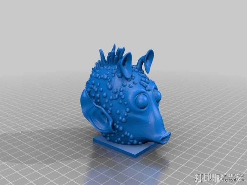 Greedo星球大战造型 3D模型  图1