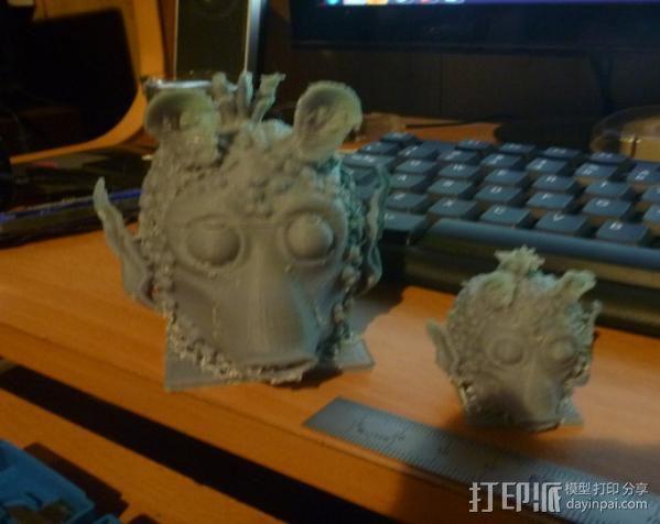 Greedo星球大战造型 3D模型  图3