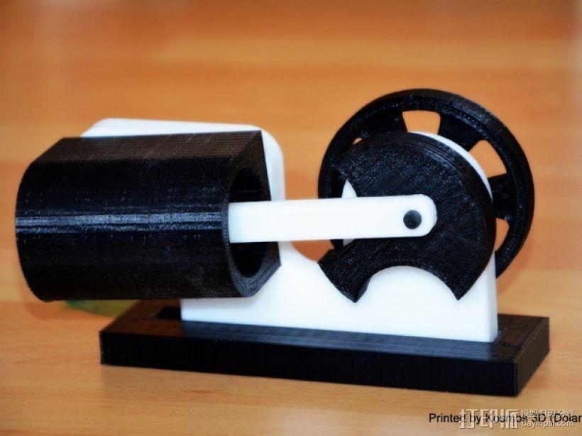 摇杆发动机 3D模型  图1