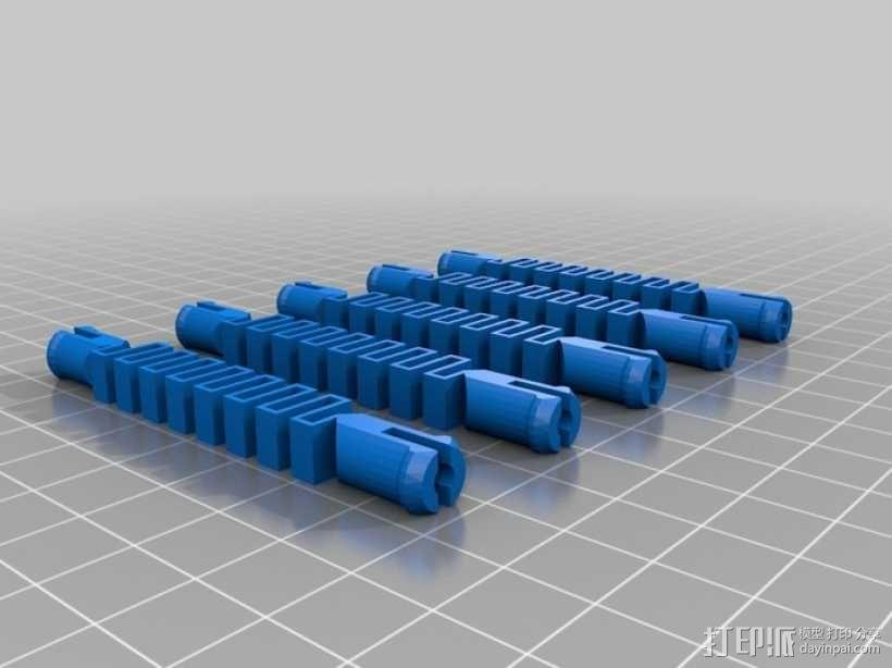 动物触手 3D模型  图2