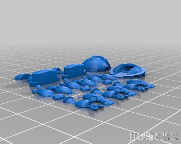 机器人教授  3D模型  图3