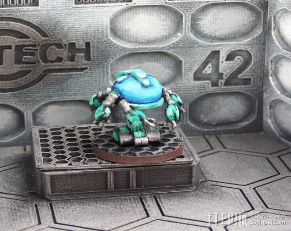 机器人教授  3D模型  图8