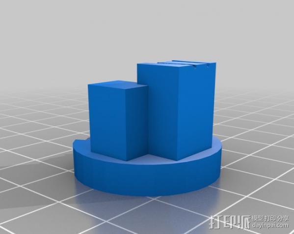 双脊龙头骨 3D模型  图3