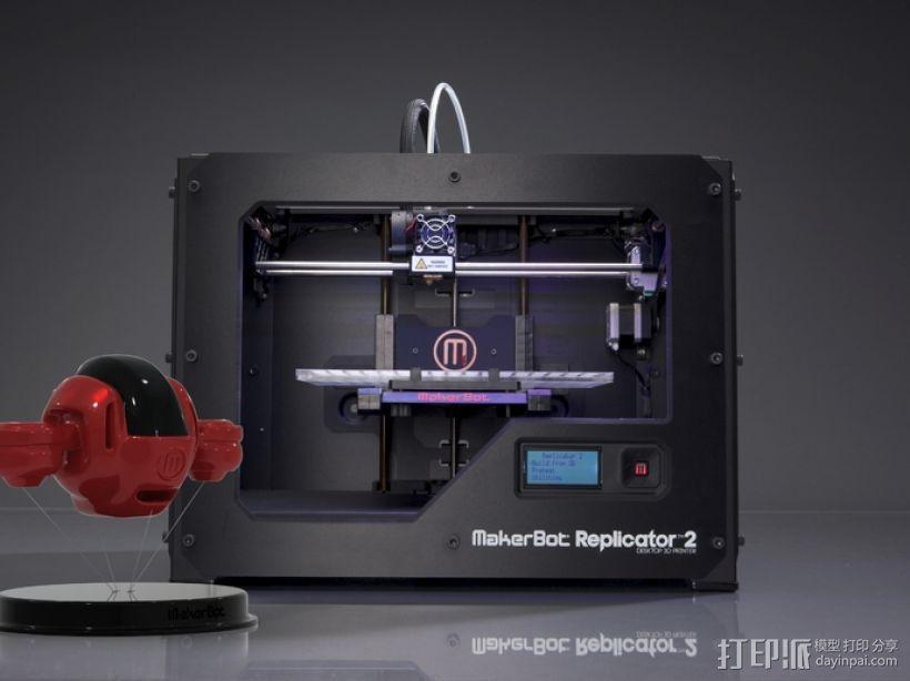 BONZA 未来式运输机 3D模型  图1