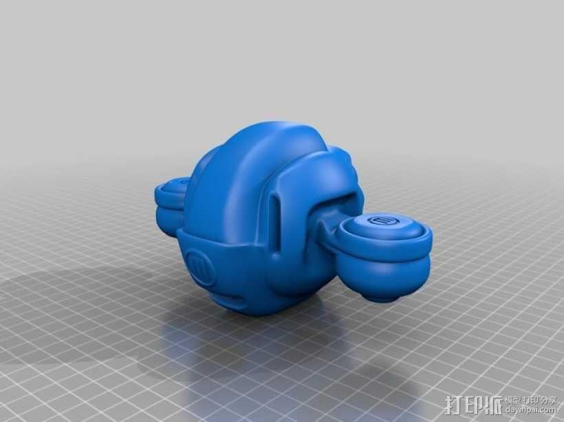 BONZA 未来式运输机 3D模型  图8