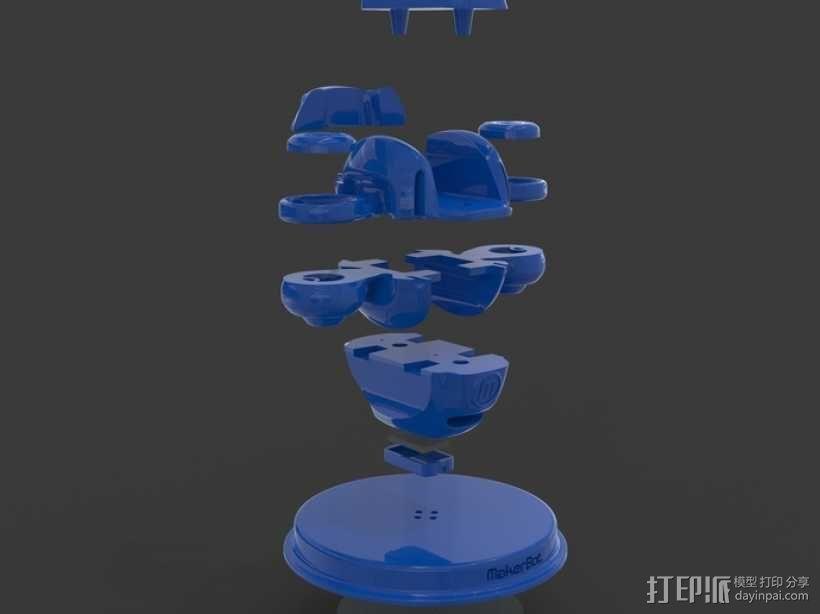 BONZA 未来式运输机 3D模型  图12