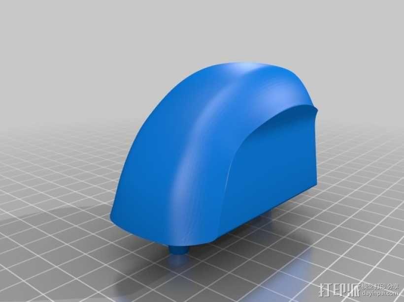 BONZA 未来式运输机 3D模型  图16