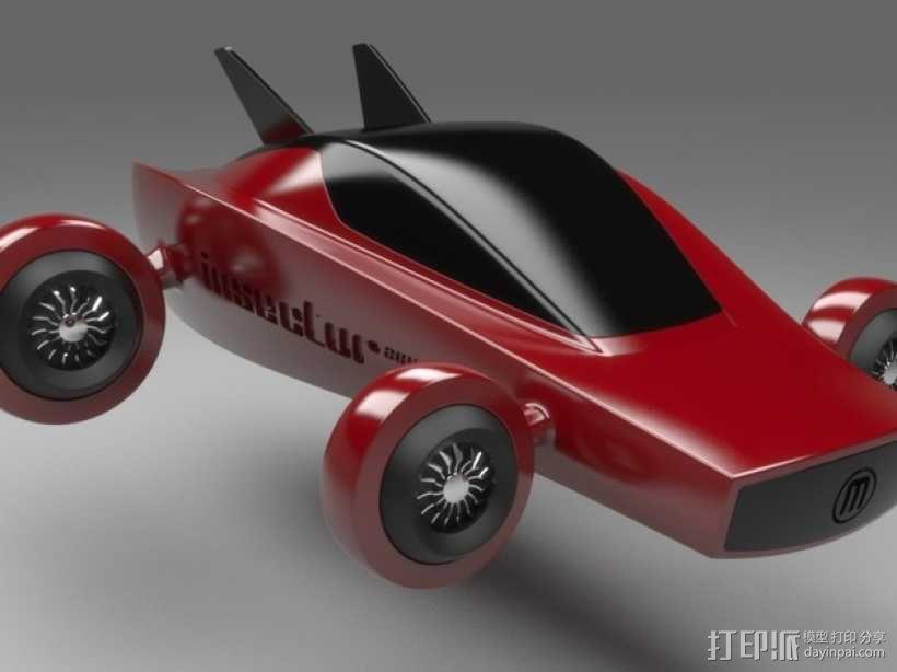 未来式巡视车 3D模型  图1