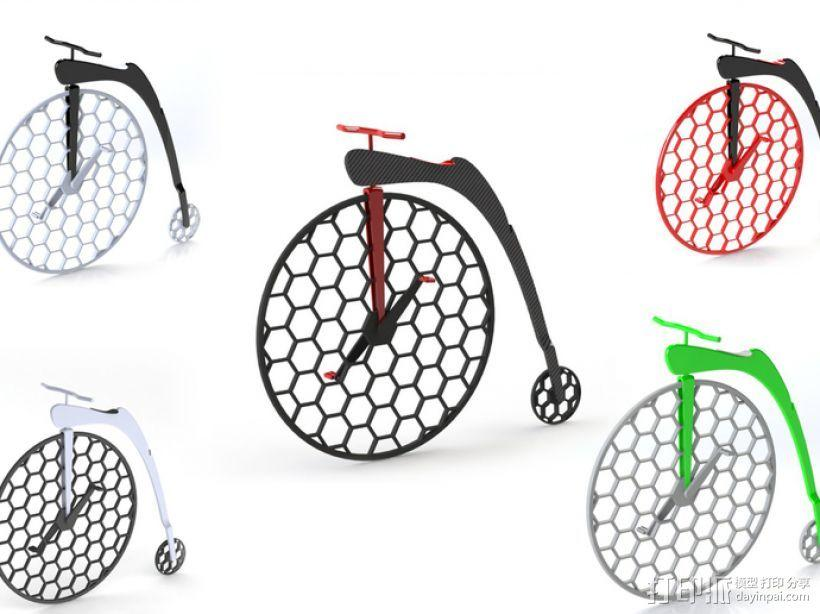 Penny Silva 自行车 3D模型  图8