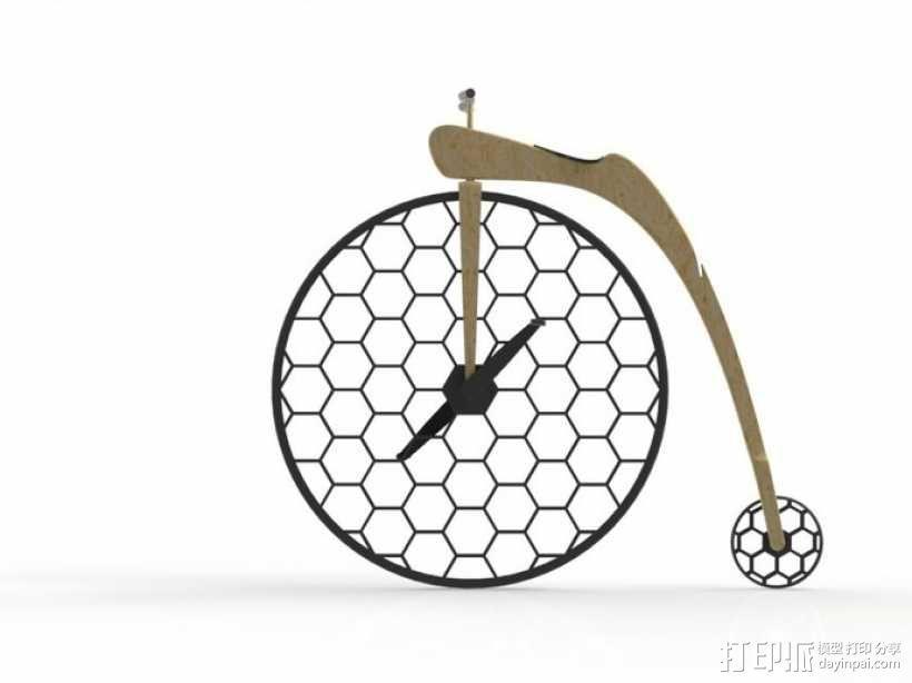 Penny Silva 自行车 3D模型  图10