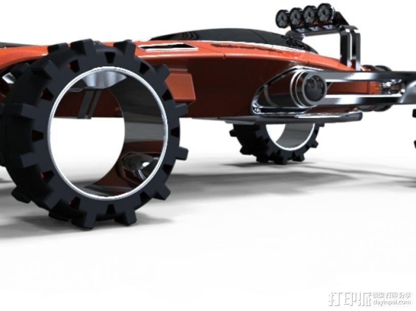 未来式越野车 3D模型  图2