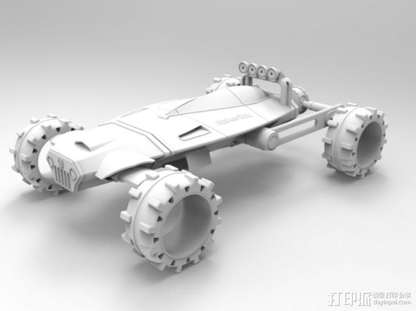 未来式越野车 3D模型  图7