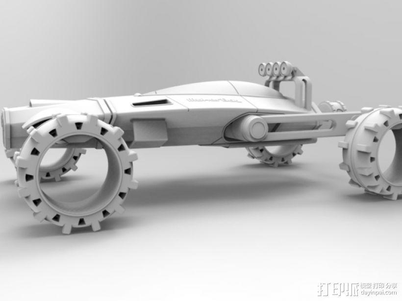 未来式越野车 3D模型  图6