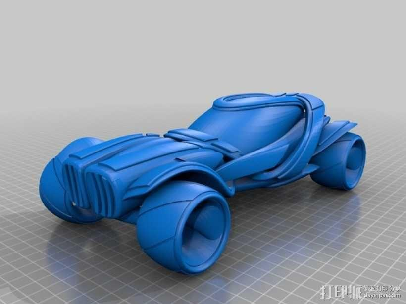 概念式超级跑车 3D模型  图3