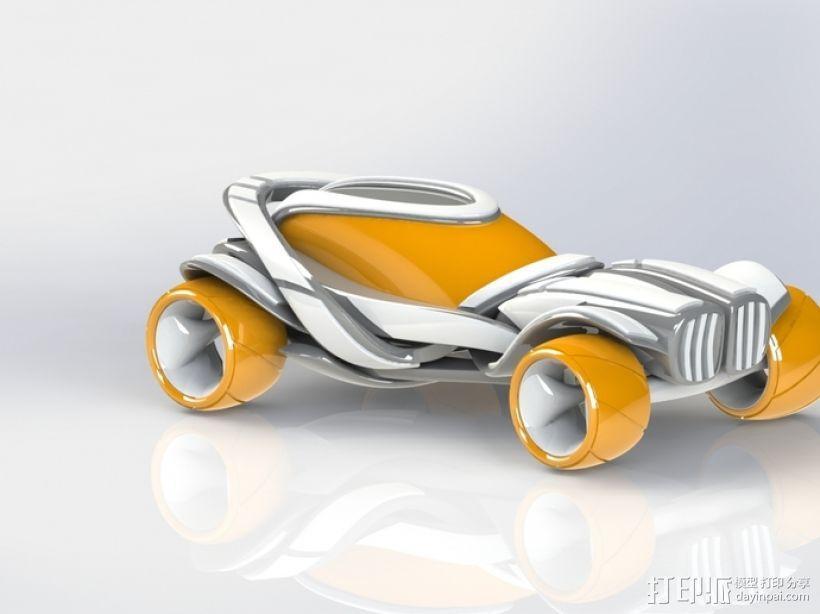 概念式超级跑车 3D模型  图2