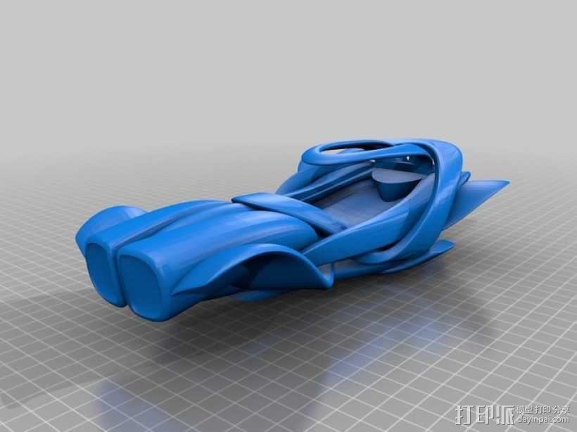概念式超级跑车 3D模型  图4