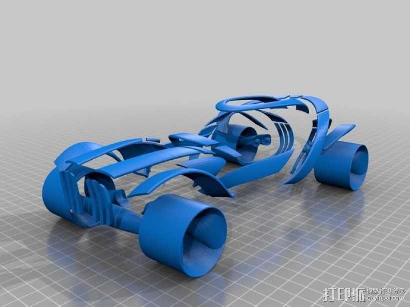 概念式超级跑车 3D模型  图5