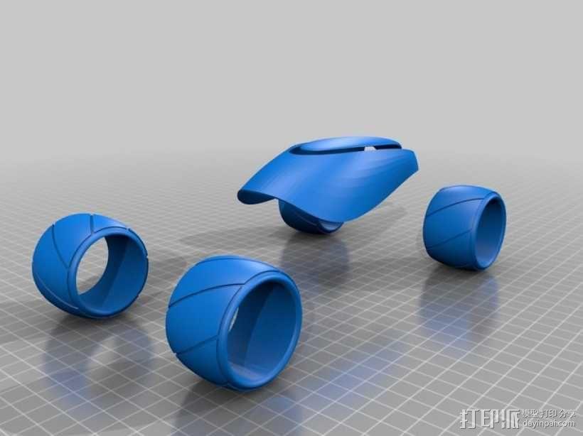 概念式超级跑车 3D模型  图6