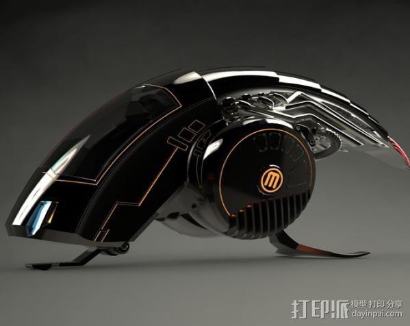 机械鸟 3D模型  图3