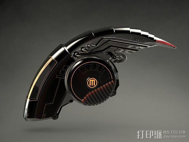 机械鸟 3D模型  图2