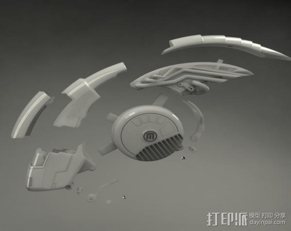 机械鸟 3D模型  图5