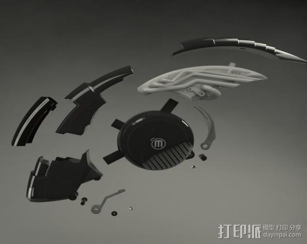 机械鸟 3D模型  图4
