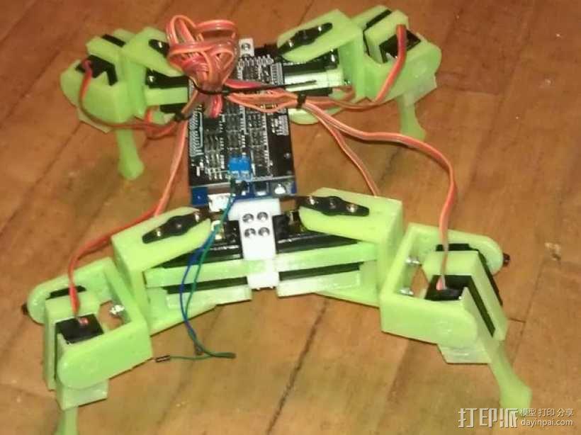 Anandromeda's AT-AS 四足机器人 3D模型  图1