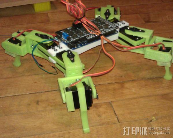 Anandromeda's AT-AS 四足机器人 3D模型  图2