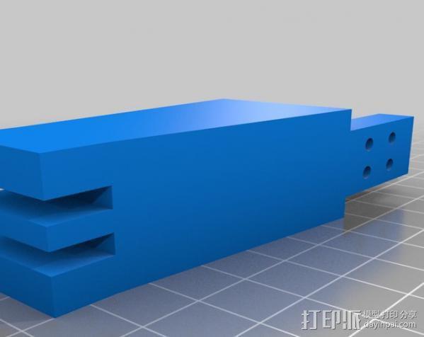Anandromeda's AT-AS 四足机器人 3D模型  图3