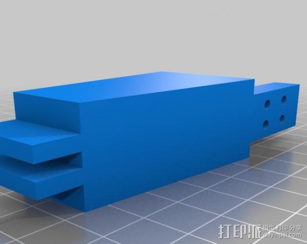Anandromeda's AT-AS 四足机器人 3D模型  图4