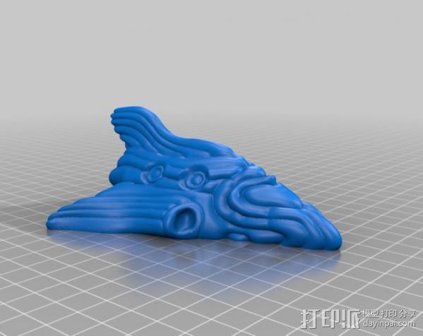 莫比乌斯飞船  3D模型  图1