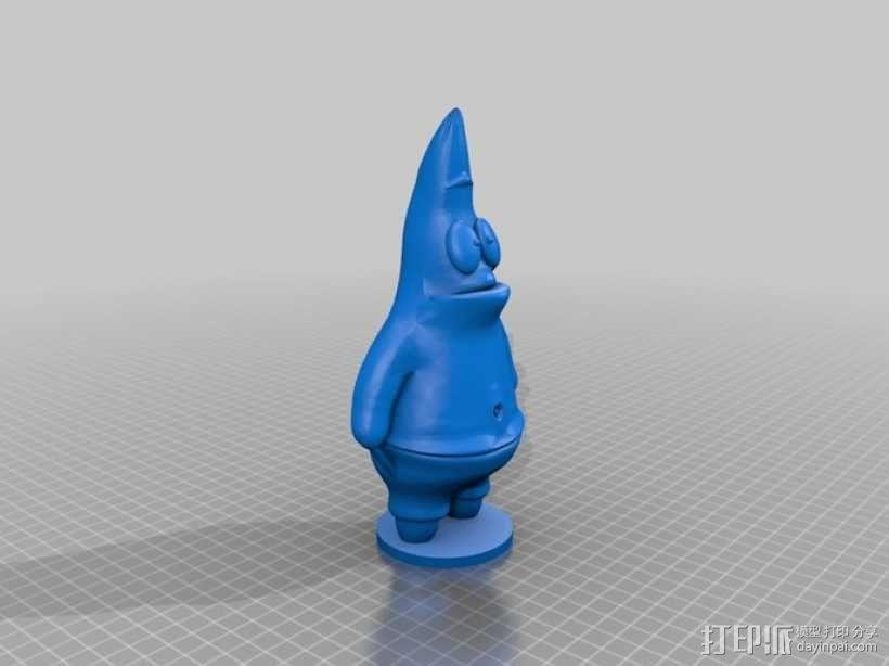 派大星 3D模型  图1