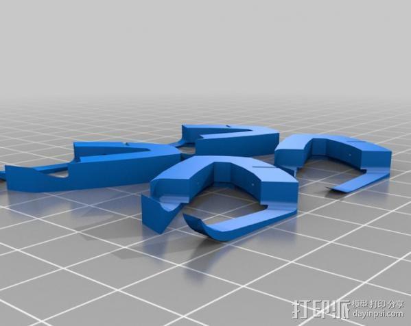 过山车车厢 3D模型  图2